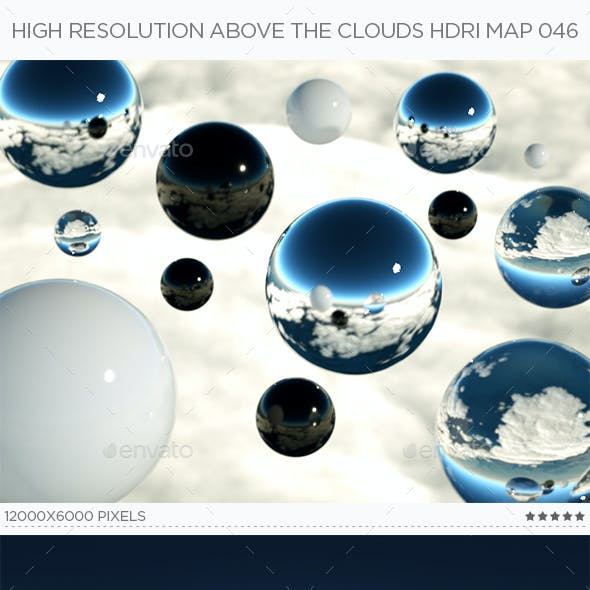 High Resolution Above The Clouds HDRi Map 046