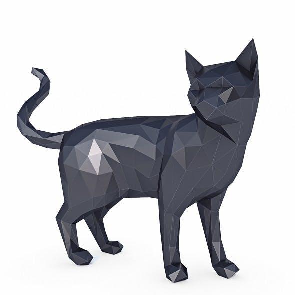 Cat Low Poly v3 - 3DOcean Item for Sale