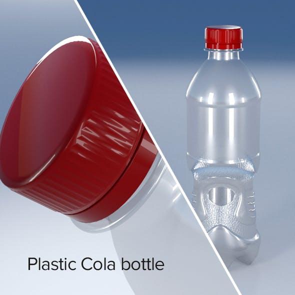 Plastic Cola bottle - 3DOcean Item for Sale