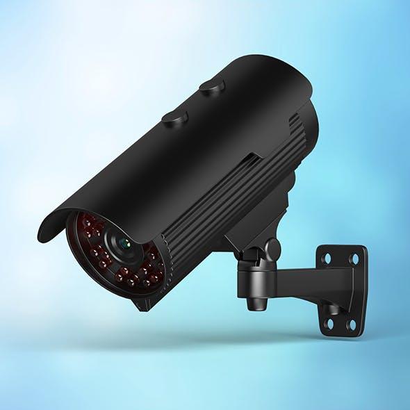 CCTV Camera - 3DOcean Item for Sale