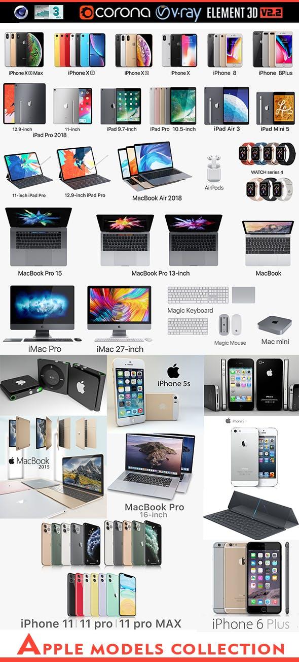 Apple,iPhone Complete Set - 3DOcean Item for Sale
