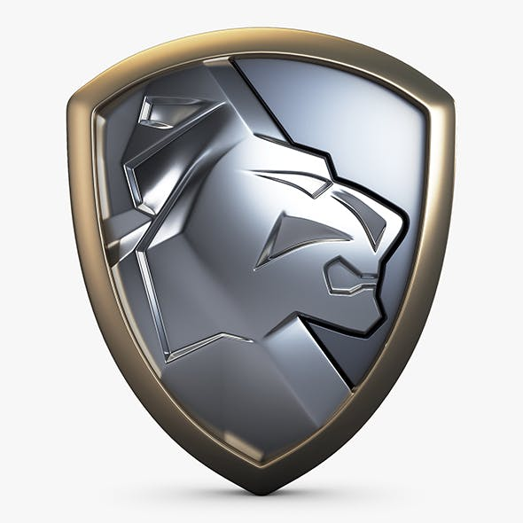 Lion Shield Insignia v 1