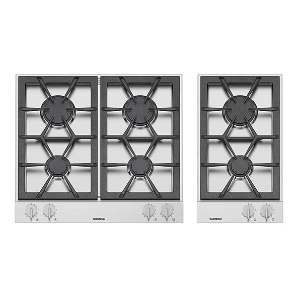 Gas cooktops - 3DOcean Item for Sale
