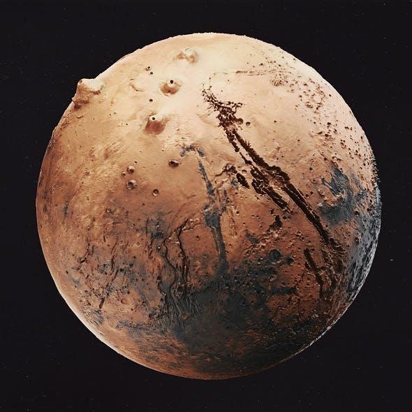 Mars High Poly