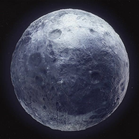 Pluto High Poly