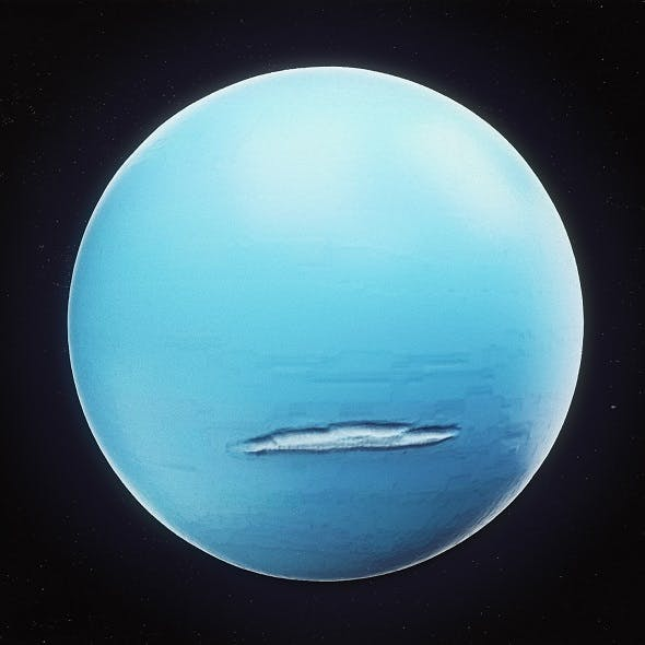Uranus High Poly