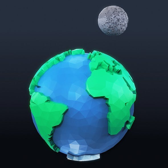 Earth Low Poly