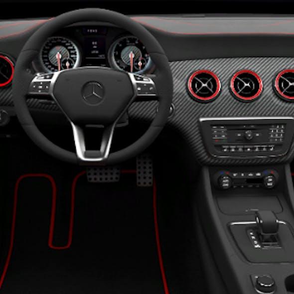 Mercedes-Benz A-Class 3D модель