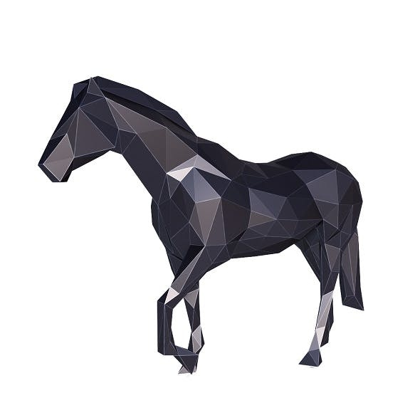 Horse Low Poly v2