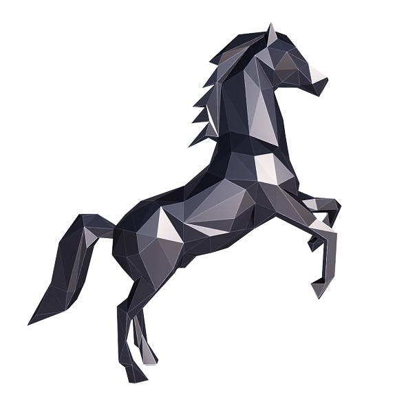 Horse Low Poly