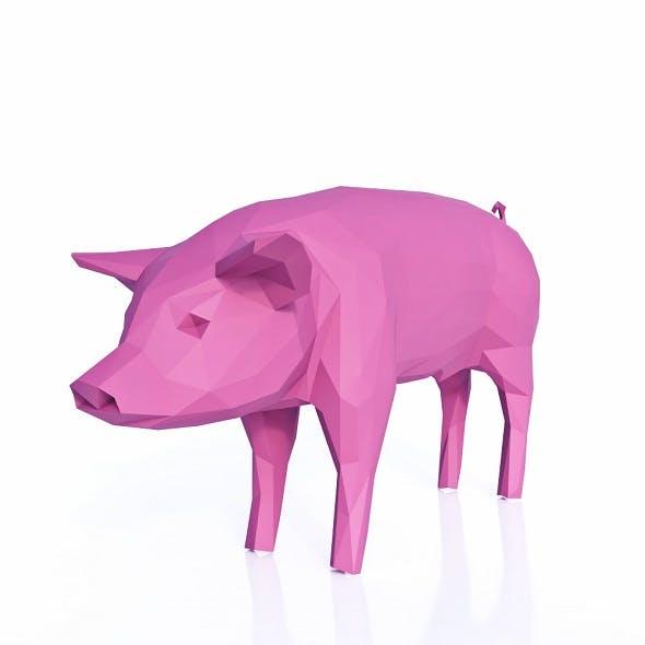 Pig Low Poly v2