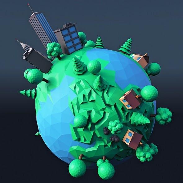 Cartoon Planet 3 - 3DOcean Item for Sale