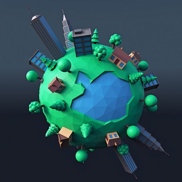 Cartoon Planet 4 - 3DOcean Item for Sale
