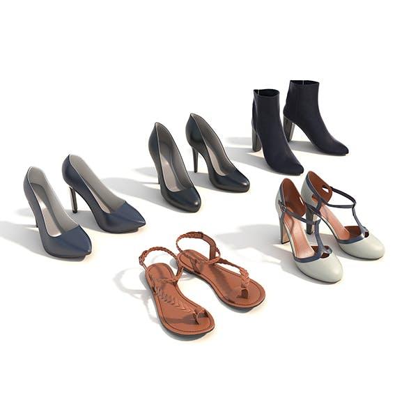Women Shoes - 3DOcean Item for Sale