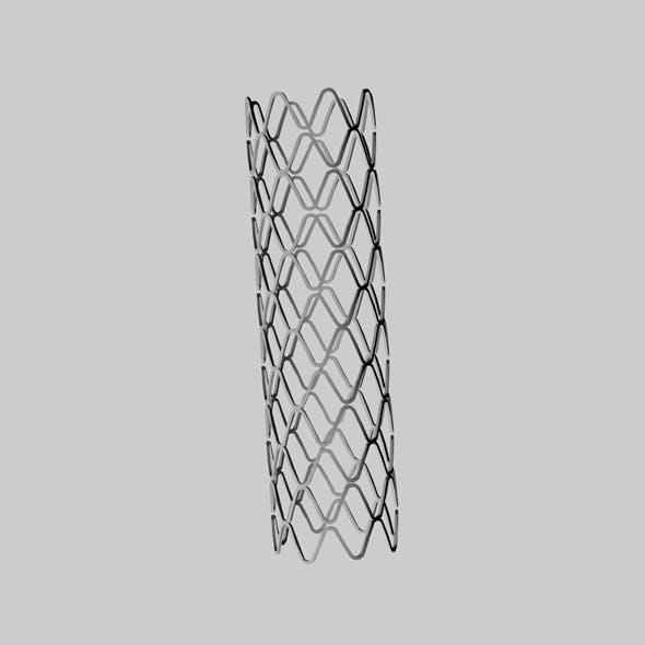 Coronary Stent 3D model