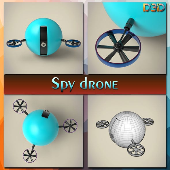 Spy drone - 3DOcean Item for Sale
