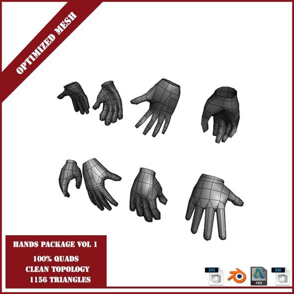 Hands Package Volume 1 - 3DOcean Item for Sale