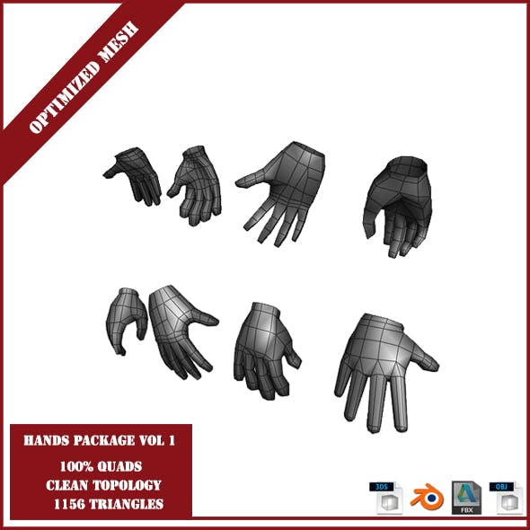 Hands Package Volume 1