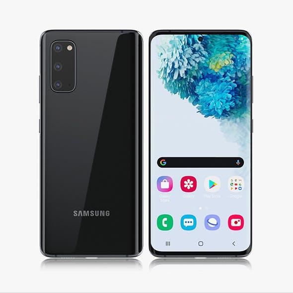 Samsung Galaxy S20 black
