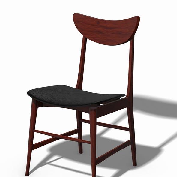Scandinavian Design Chair 70 - Photoscanned PBR