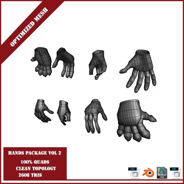 Hands Package Volume 2 - 3DOcean Item for Sale