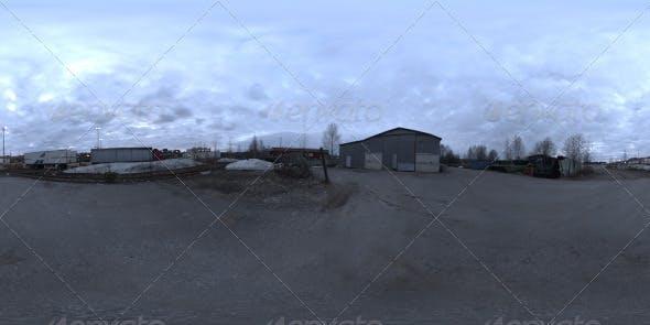 Industrial Area HDRI - Dusk Desolation - 3DOcean Item for Sale
