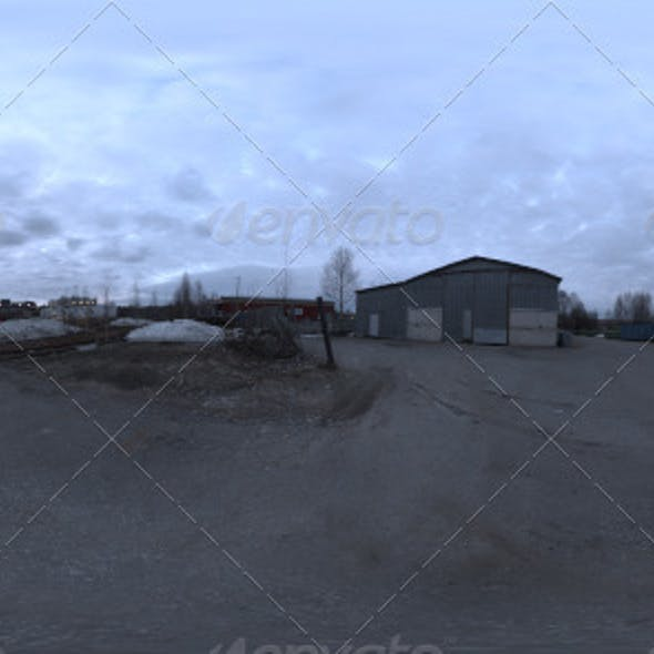 Industrial Area HDRI - Dusk Desolation
