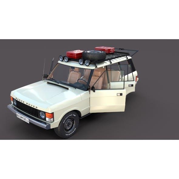 Range Rover Classic with interior v1