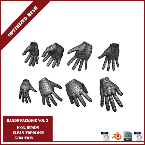 Hands Package Volume 3 - 3DOcean Item for Sale