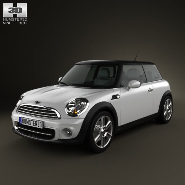 Mini One Hardtop 2011 - 3DOcean Item for Sale