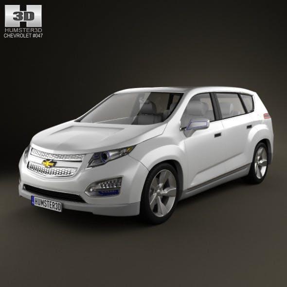 Chevrolet Volt MPV5 2012 - 3DOcean Item for Sale