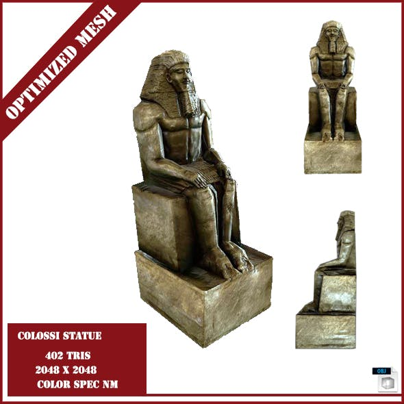 Colossi Statue - 3DOcean Item for Sale