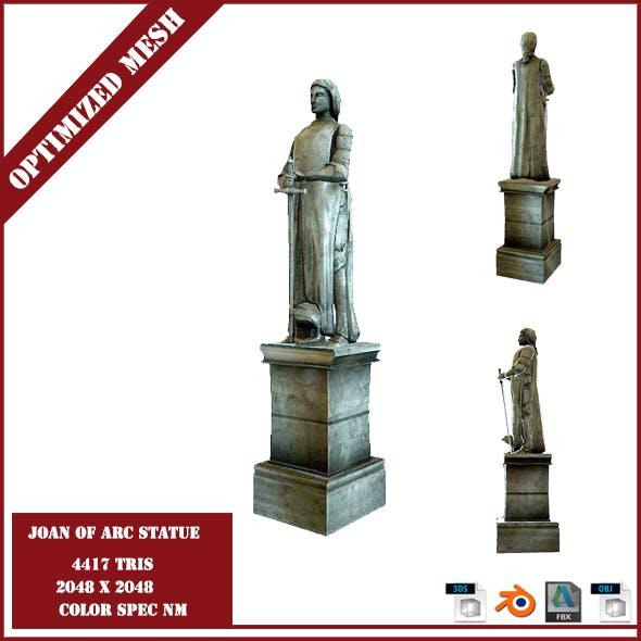 Joan of Arc Statue - 3DOcean Item for Sale