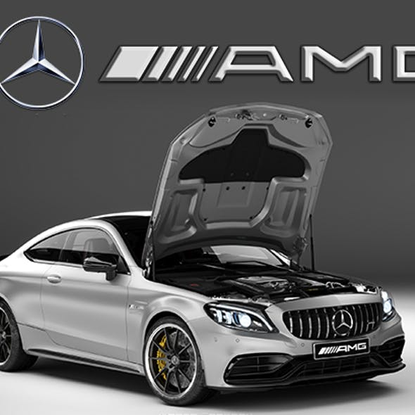 Mercedes-Benz C63 AMG Coupe 2019