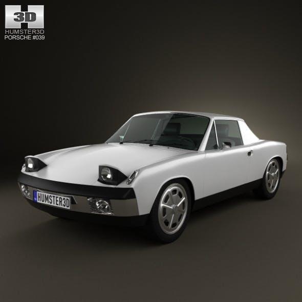 Porsche 914 1972 - 3DOcean Item for Sale