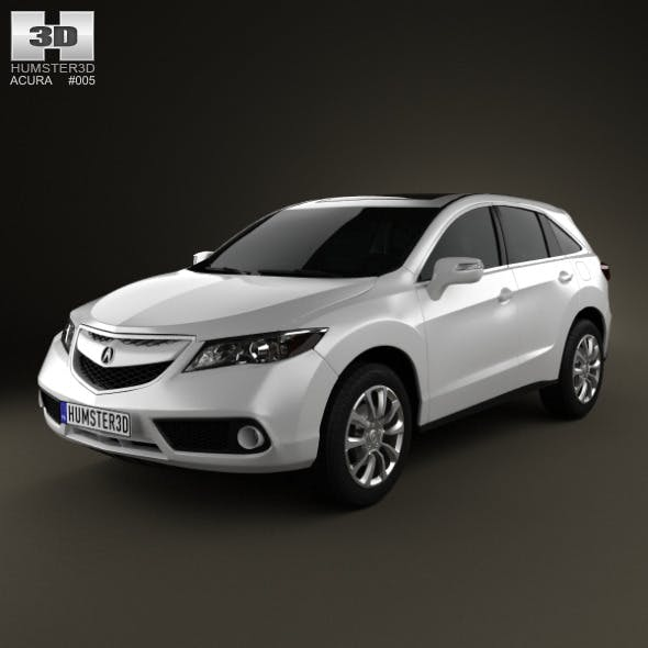 Acura RDX 2013 By Humster3d
