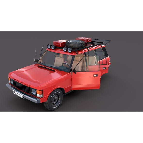 Range Rover Classic with interior v2