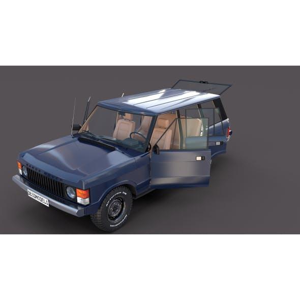 Range Rover Classic with interior v3