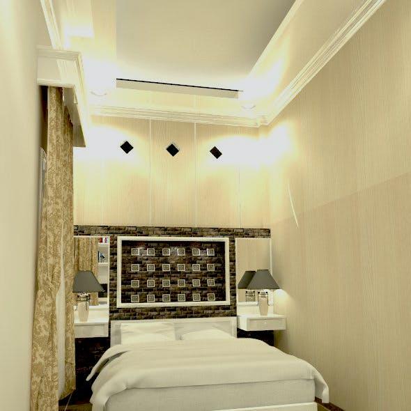 3D BED ROOM INTERIOR DESIGN BALIKPAPAN REG 1