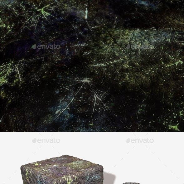 Alien Phosphorescent Ground Seamless Texture 3