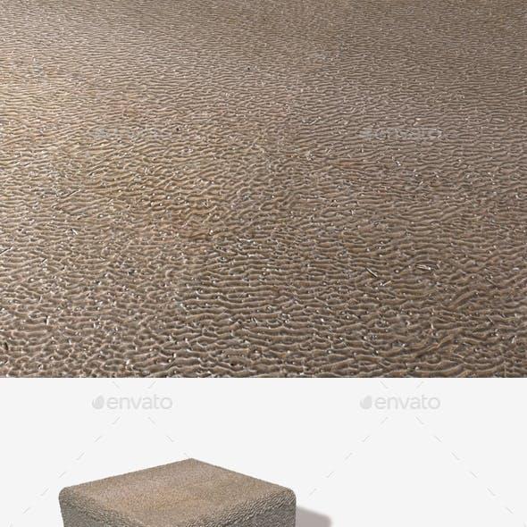 High Angle Rippled Sand Seamless Texture