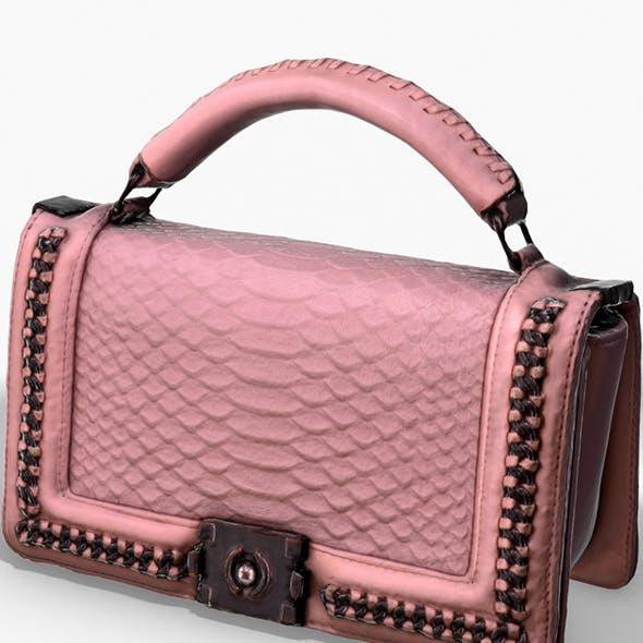 Pink Pochette - 3D Photoscanned PBR