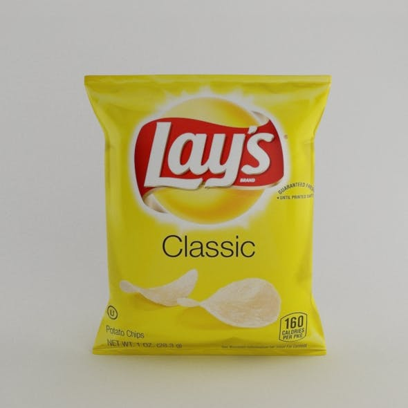 Lays pack