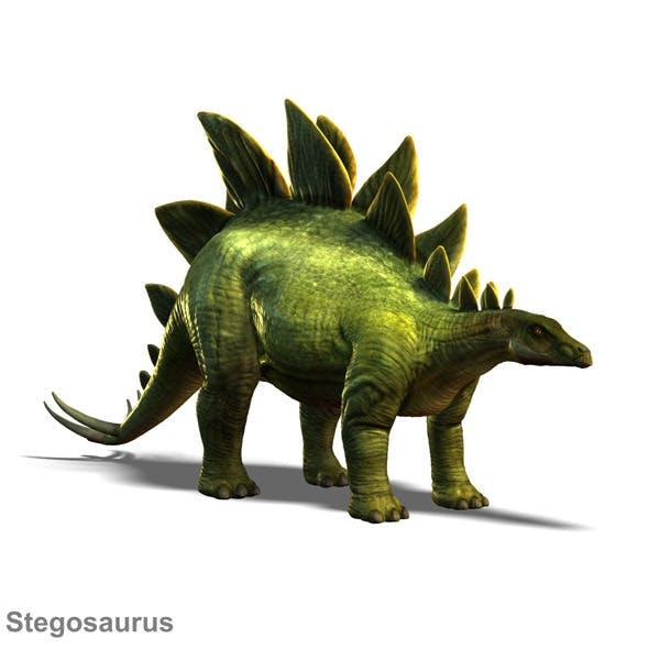 Stegosaurus - 3DOcean Item for Sale