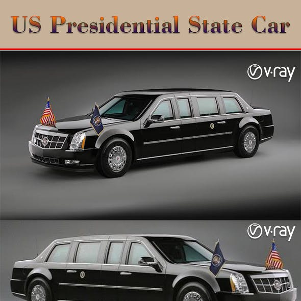 2017 US Presidential State Car (The Beast)