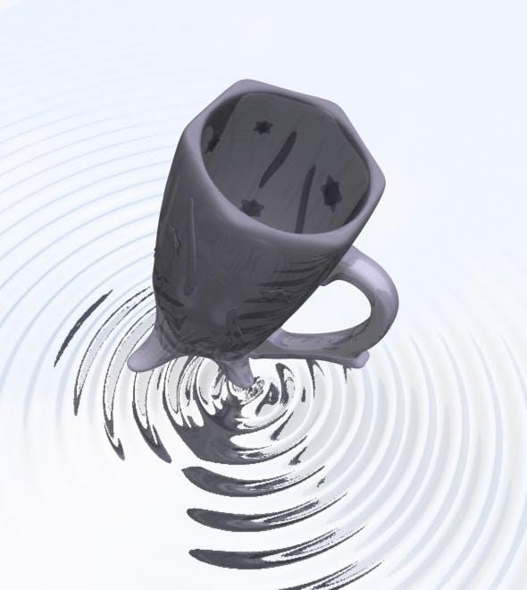 3d Model Of A Mug - 3DOcean Item for Sale