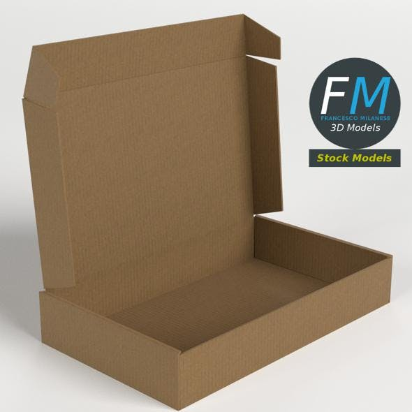 Carton box open