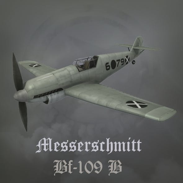 Messerschmitt BF-109B Spanish civil war