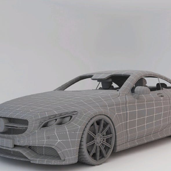 Mercedes-Benz S-Class Coupe 3D model