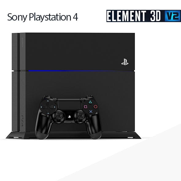 Sony Playstation 4 - Element 3D